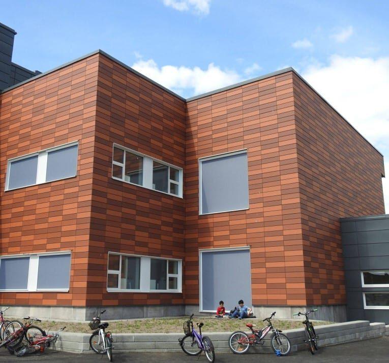 Brick fasad
